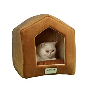 Armarkat Brown Cat Bed Size, 18-Inch by 14-Inch