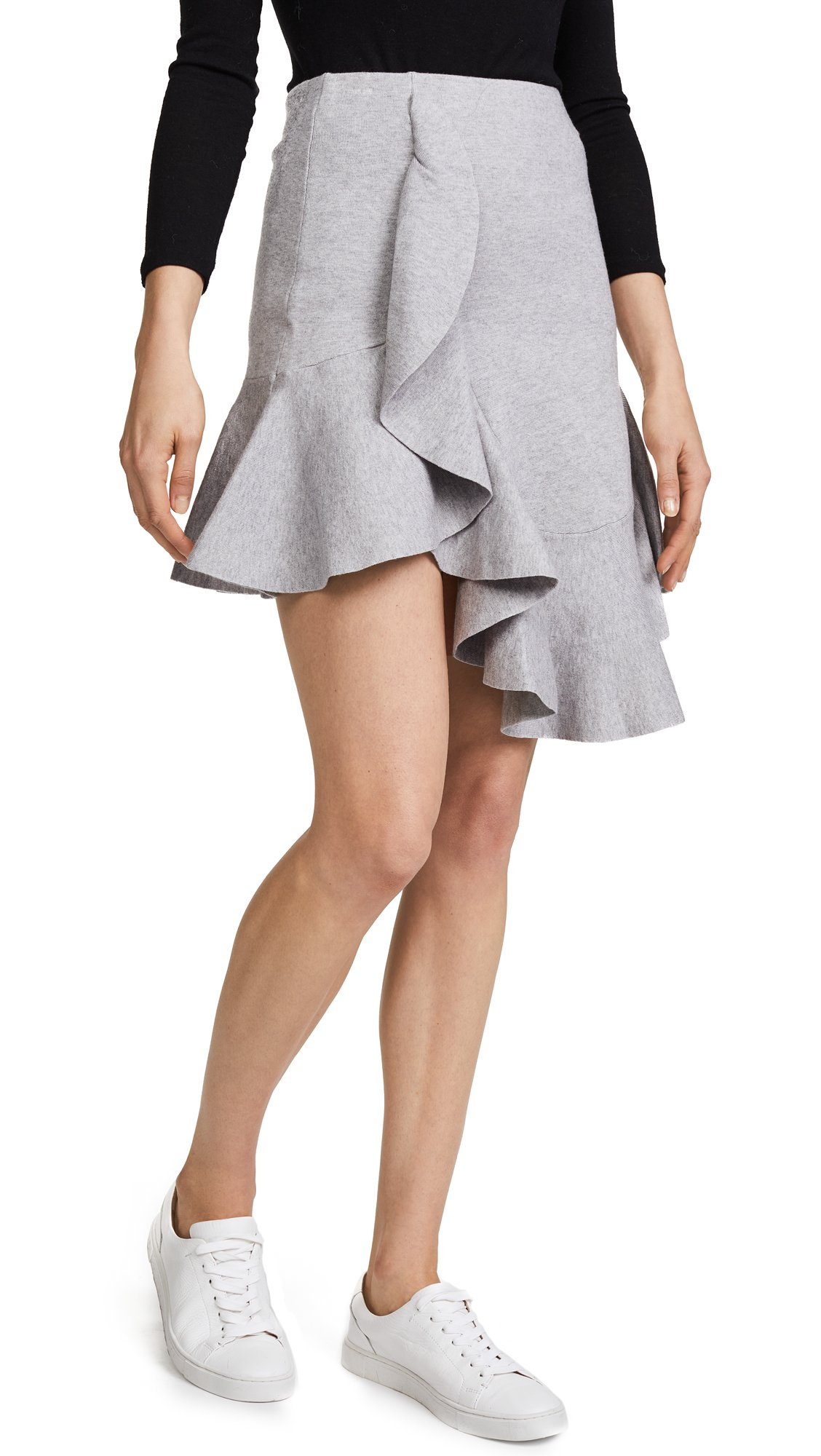 C/Meo Collective Women's Phase Knit Skirt, Grey, X-Small by C/Meo Collective