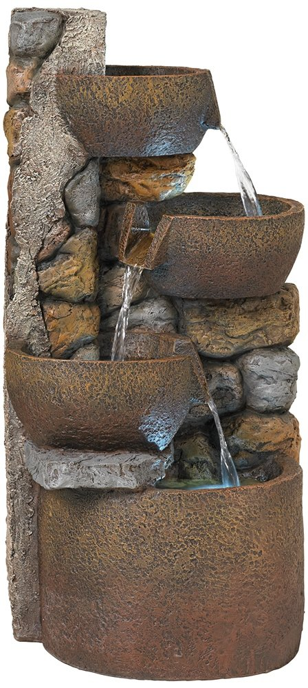 Ashmill Rustic Urn 29'' High Fountain by John Timberland