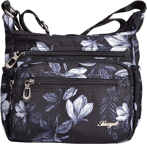 Light Men Women Casual Messenger Bag Nylon Waterproof Crossbody Shoulder Bags