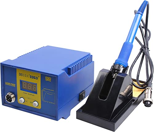 Soldering Station, 60W Digital Display AsFrost Solder Station Welding Iron with Adjustable Temperature 356 F-896 F , Auto Sleep Function, ESD SAFE