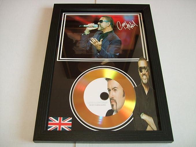 George Michael d/édicac/é disque dor 2