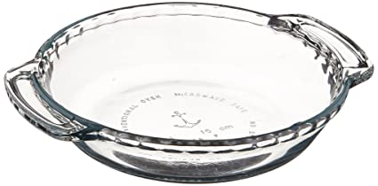 Anchor Hocking 79033 Mini Pie Plate Oven Basics Glass 6-Inch  sc 1 st  Amazon.com & Amazon.com: Anchor Hocking 79033 Mini Pie Plate Oven Basics Glass ...