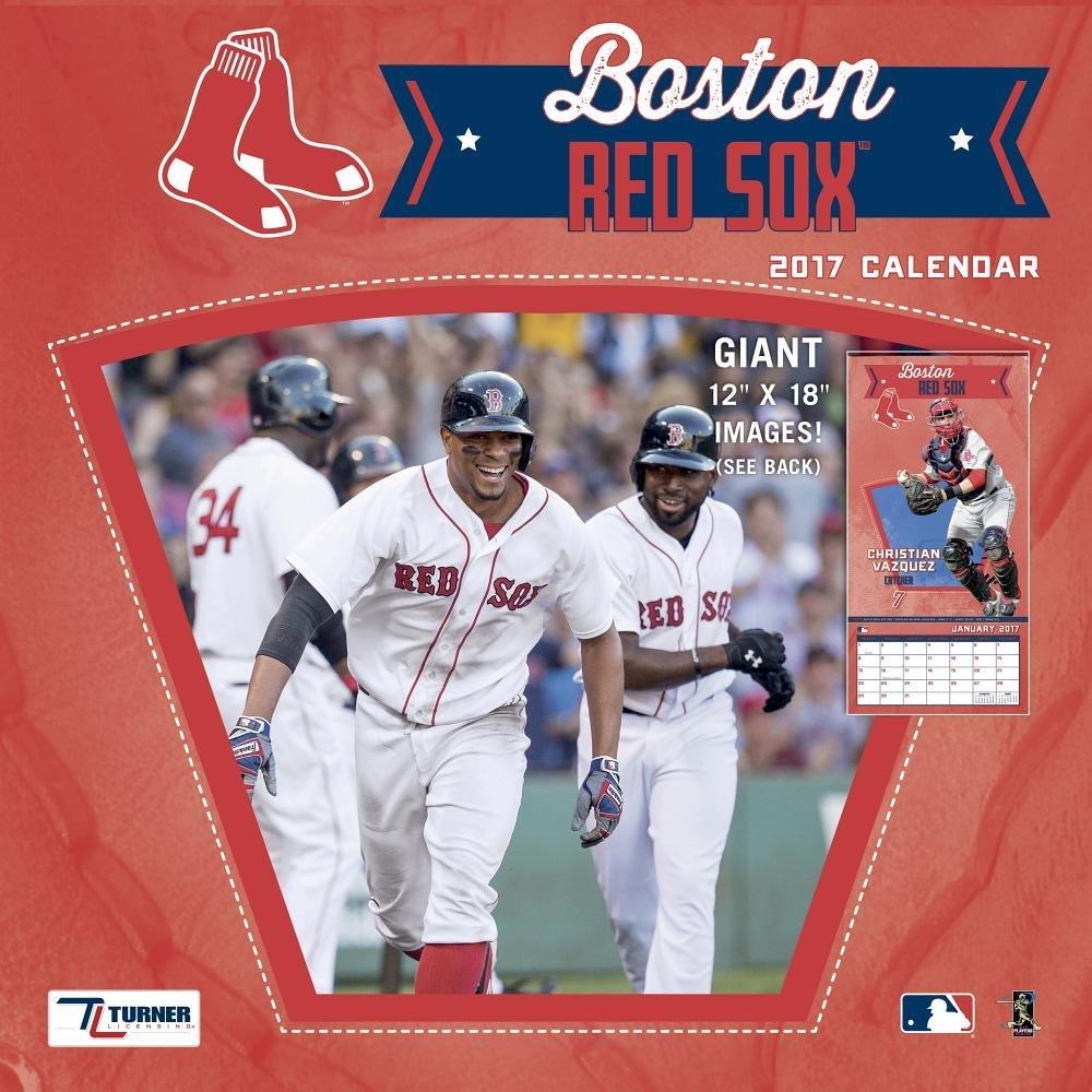 Boston Red Sox 2017 Calendar Lang Holdings Inc 9781469338996