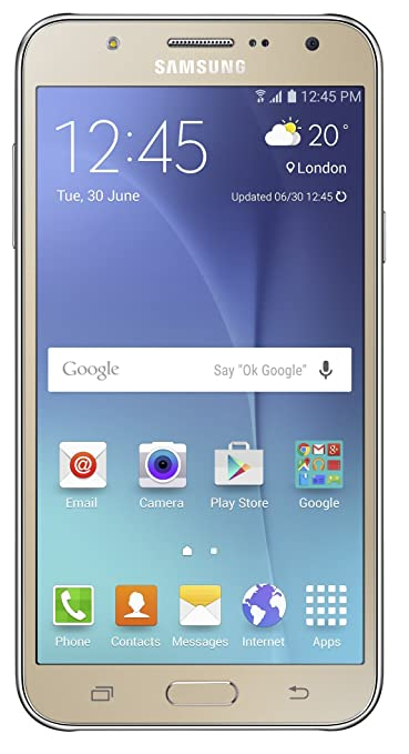 Samsung Galaxy J7 SM-J700F (Gold, 16GB)(Certified Refurbished) Smartphones at amazon