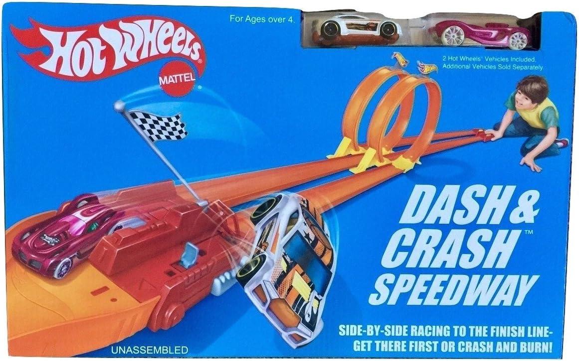 Hot Wheels dmw91 – Super Crash de Circuito Vehículo: Amazon.es ...