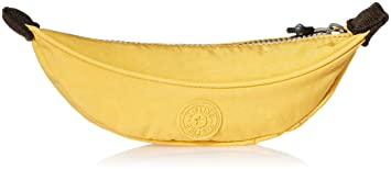 Kipling - BANANA - Small Pen Case - Banana Yellow - (Yellow)