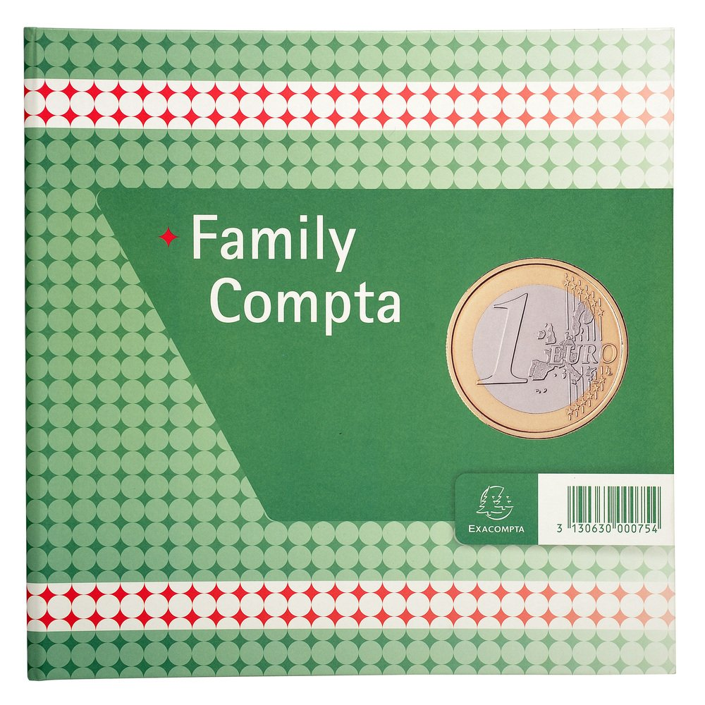 Exacompta 75th Register Family compta 100 Pages 25/25