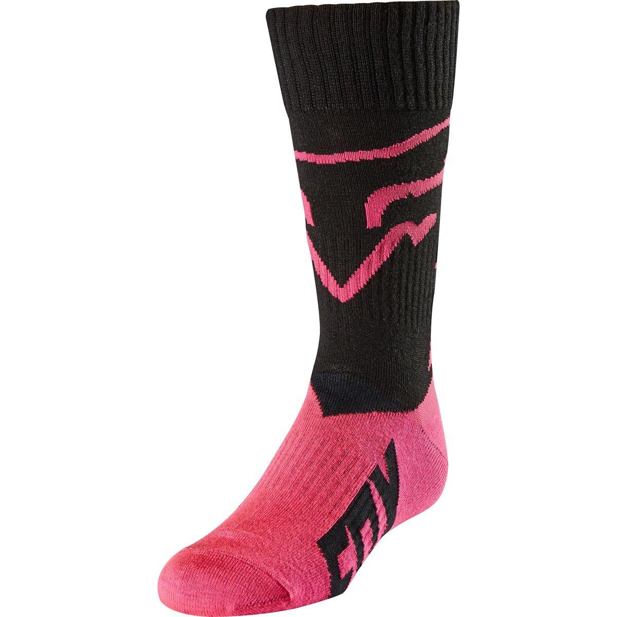 2018 Fox Racing Youth Mastar MX Socks-Black-YL