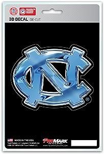FANMATS University of North Carolina - Chapel Hill 3D Team Logo Decal, Carolina Blue, One Size
