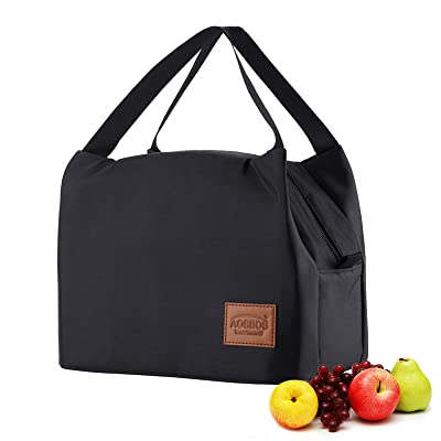 Pink Reusable Insulated Meal Prep Lunch Bag for Women Lunch Box for Kids Leakproof Freezable Cooler Bag Tote Bag Fashionable Lunchbox Container Lunch Bags for Work