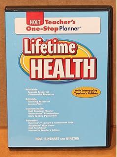 Lifetime health life skills workbook rinehart and winston holt lifetime health teachers one stop planner cd rom fandeluxe Image collections