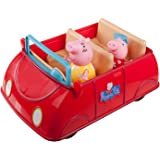 Peppa Pig Red Car Playset Includes Car Peppa Pig and Mummy Pig Sounds Include Melodies Phrases