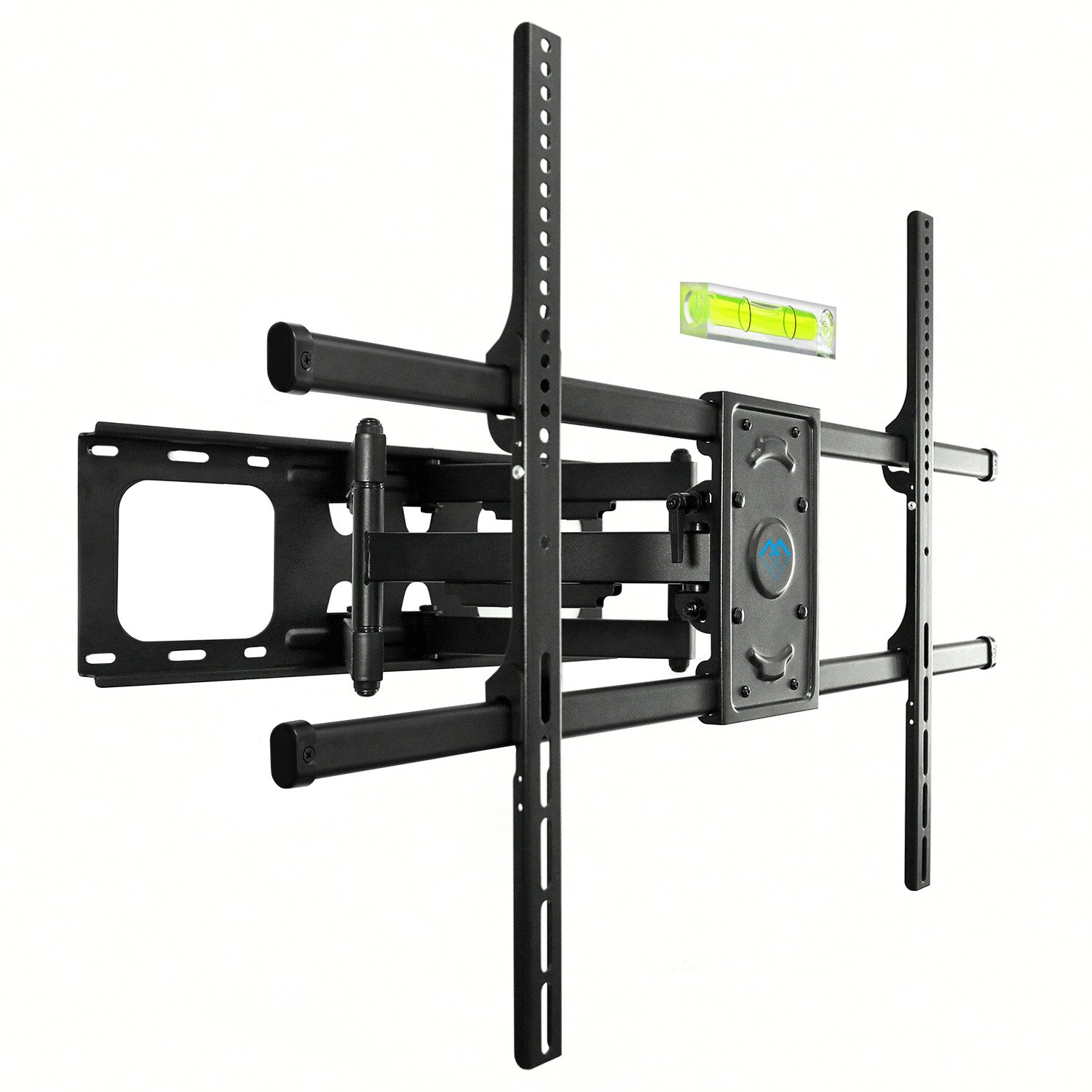 PERLESMITH TV Wall Mount Bracket Full Motion, Tilts, Swivels Most 50-90 inch LED LCD OLED Flat Screen Plasma TVs Dual Articulating Arms, Holds up to 165lbs VESA 800x600mm,Max Stud Spacing 24''