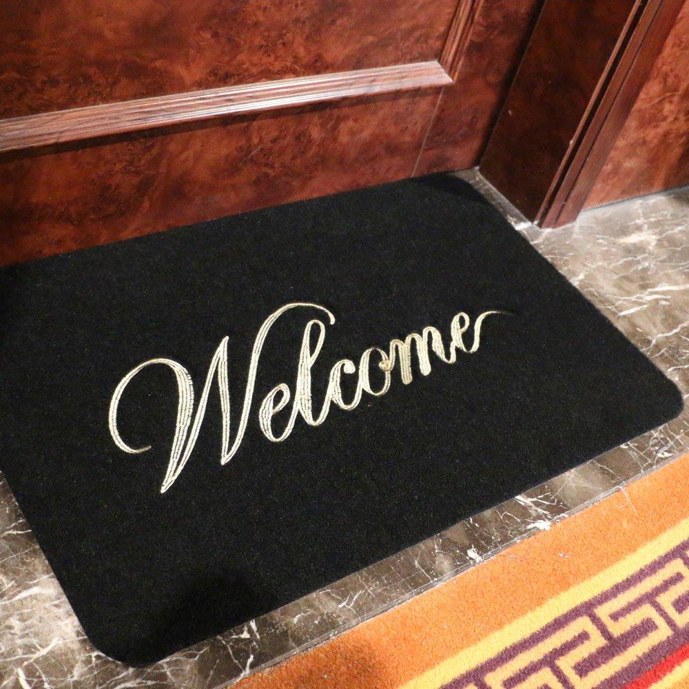 Amazon.com : GRECUTE Front Doormat Welcome Scraper Entrance Door ...