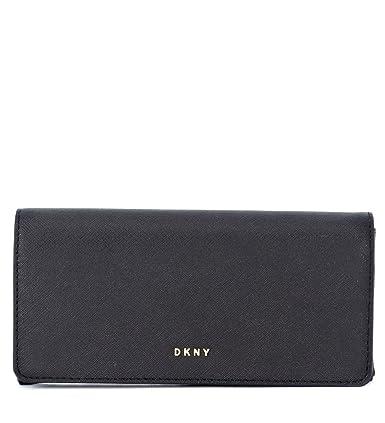 045f174e2d9 Dkny Women s Dkny Black Leather Wallet Black  Amazon.co.uk  Clothing