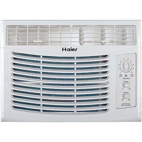716BPHMlOaL._SY463_ amazon com haier hwf05xcl l 5,000 btu 115v window mounted air  at webbmarketing.co