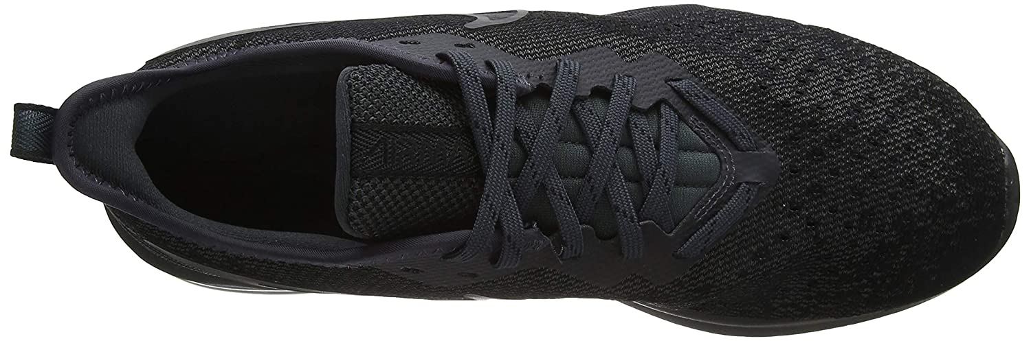 Nike Men's Air Max Sequent 4 Black Running Shoes (AO4485 002)