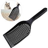 UEETEK Cucharón de la Basura, Cuchara Larga de la Manija Scooper para el Perro del Gatito del Animal Doméstico, pala de Tamiz del Animal Doméstico