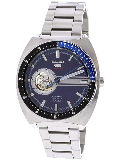 Seiko Reloj Analogico para Hombre de Automático con Correa en Acero Inoxidable SSA327K1: Amazon.es: Relojes