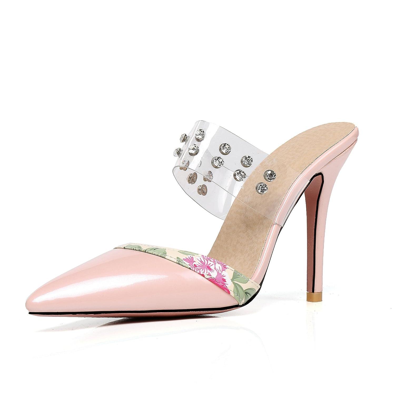 Unbekannt Damen Sandalen Wies Fein mit High Heel Heel Heel Größe Flip Flop Fashion Strass Aprikose 41 c7d56e