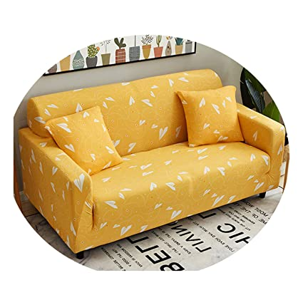 Brilliant Amazon Com Artist Yellow Sofa Cover Elastic Sofa Slipcover Short Links Chair Design For Home Short Linksinfo