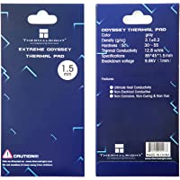SnowBabe Thermalright Pad Termico 12,8 W/MK, 9,8 V, 85x45x1.5mm, Resistencia al Calor y Resistencia a Altas temperaturas…