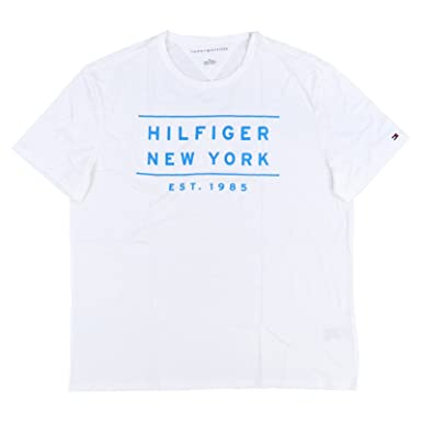 1b08c0c0f61e Image Unavailable. Image not available for. Color  Tommy Hilfiger New York  Mens Soft Fit T-Shirt White ...