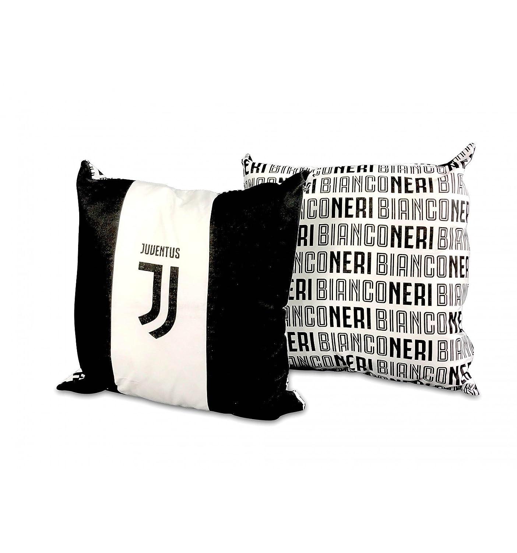 tex family Cuscino ARREDO Juve Ufficiale Juventus Cm. 40x40 White