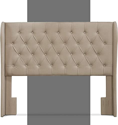 Lillian August Modern Wingback Upholstered Headboard