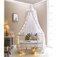 Truedays Dome Princess Bed Canopy Mosquito Net Children Room Decorate (White)