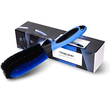 Cepillo de aro profesional para la limpieza profesional y suave de sus aros de acero y