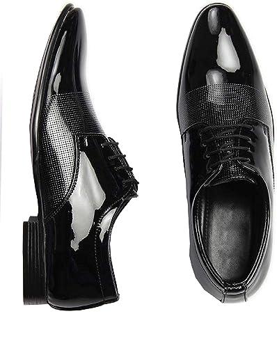 acf51edf4854d Digitrendzz Men's Patent Leather Formal Shoes for Men's Formal Shoes