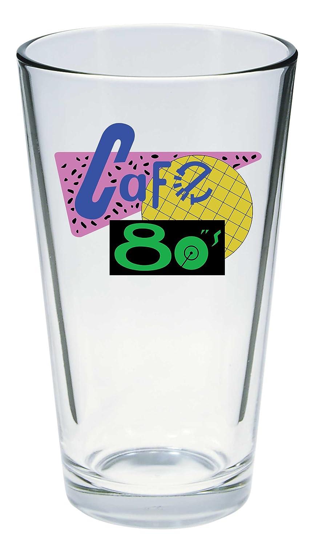 Cafe 80s Logo Pint Glass DIAMOND SELECT TOYS Back to The Future 2