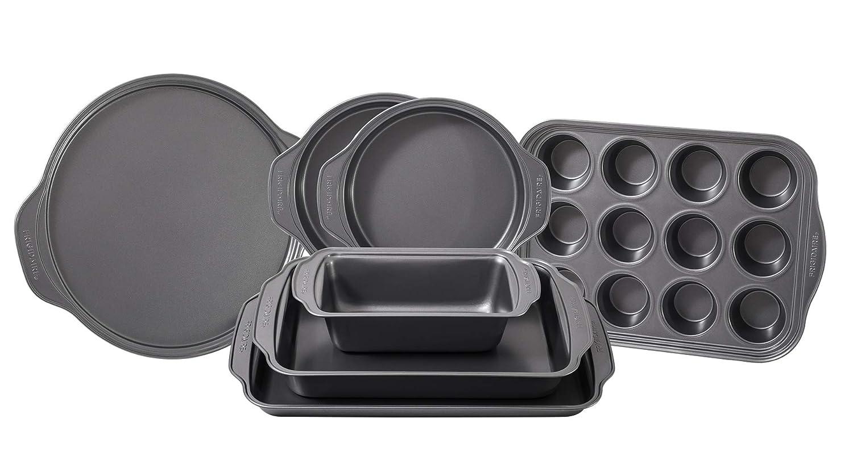 Frigidaire 11FFBAKE01 ReadyBakeware Bakeware, 7 piece, Silver