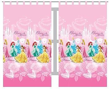 Double Rideaux Voilage Princesse Disney: Amazon.fr: Cuisine & Maison