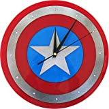 キャプテンアメリカ ウォールクロック / Captain America マーベル ヒーロー キャラクター 壁掛け時計