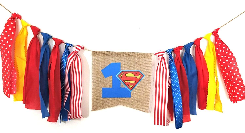 Amazon.com: Banderines para decoración de sillas altas con ...
