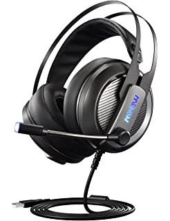 Mpow EG4 Gaming Headset, Virtual 7.1 Surround Sound Gaming Headphones for PC, PS4,