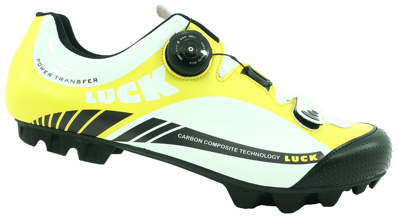 LUCK Zapatillas de Ciclismo Pro 0.17 MTB, con Suela de Carbono de 4mm y Cierre rotativo de Alta precisión para una sujeción: Amazon.es: Deportes y aire ...