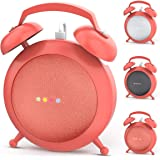 Google Home Mini Stand Holder, Retro Alarm Clock Stand Mount Base Protective Case Compatible with Google Home Mini and Nest M