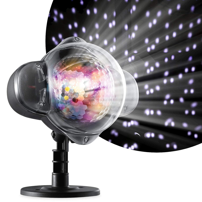 Oittm Projektionslampe Schnee Außen LED Update für Outdoor Garten