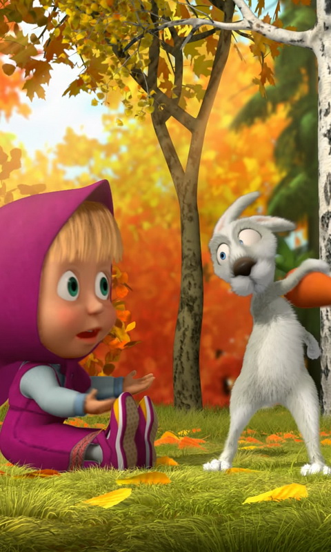 Amazoncom Masha And The Bear Wallpaper Appstore For Android
