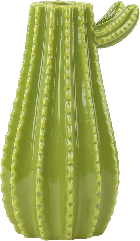 Cactus Vase Green Cactus Home Decor