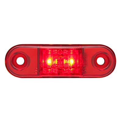 Optronics MCL15RPGP MCL15 Series Surface Mount LED Marker/Clearance Light, Red: Automotive
