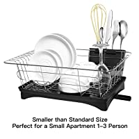 HK Antimicrobial Sink Dish Rack Dish Drainer Dish Drying Rack