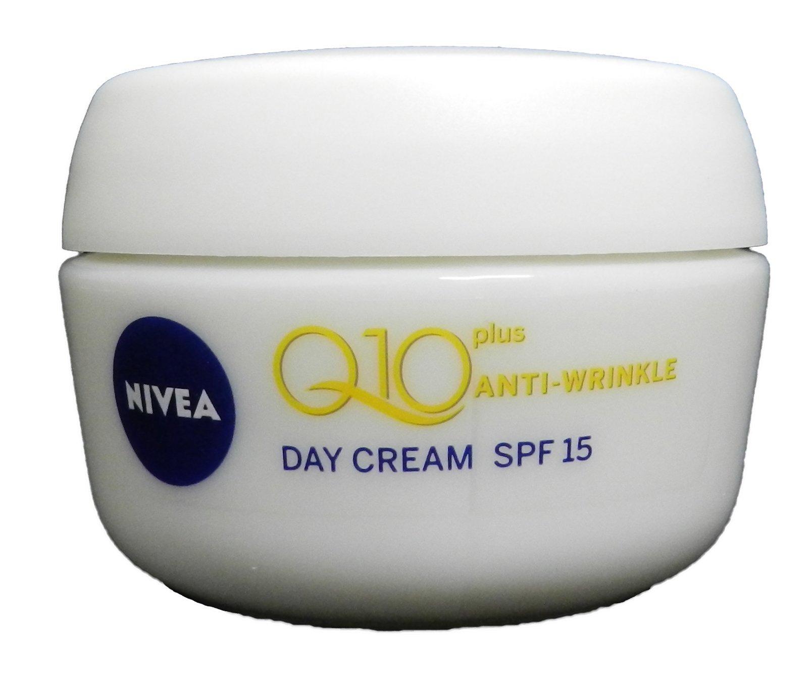 Nivea Visage Q10 Plus Creatine Anti Wrinkle Day Cream 1.7oz. / 50ml NEW IMPROVED FORMULA