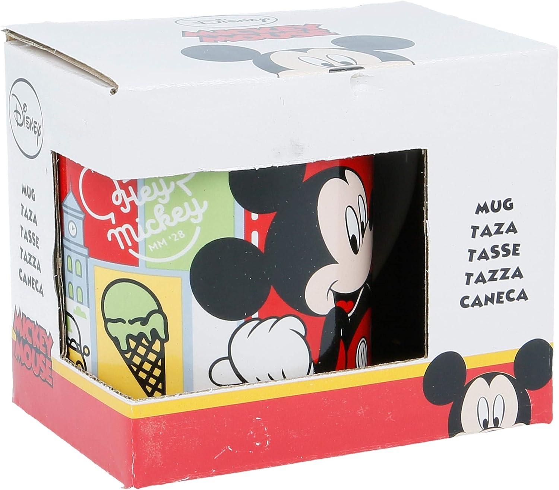 Stor Taza Kids Ceramica 200 ML con Caja   Hey Mickey Mouse - Disney -!: Amazon.es: Hogar