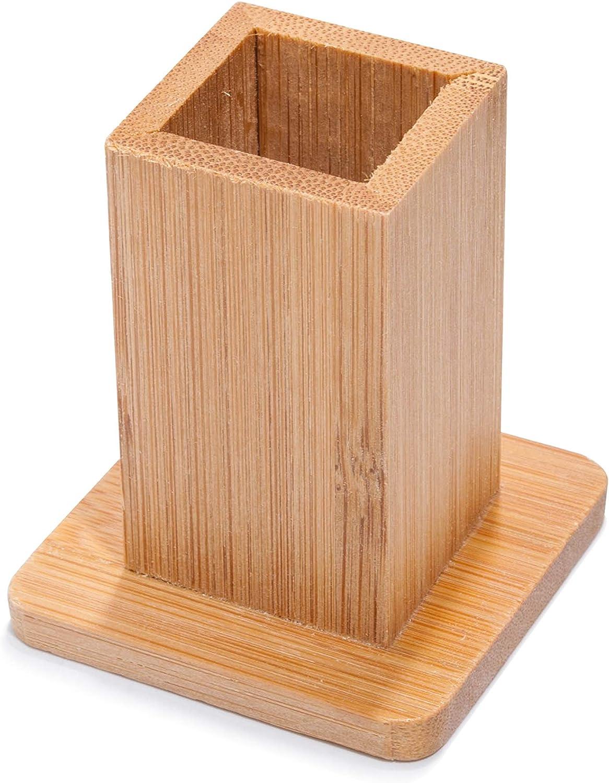 Islandoffer Tall Bamboo Toothpick Holder Toothpick Box Toothpick Container Vintage Toothpick Dispensers for Home Restaurant Club Bar Hotel Usage