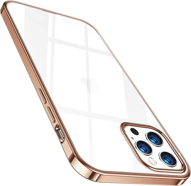 Torras Crystal Clear Hülle Kompatibel Mit Iphone 12 Pro Elektronik